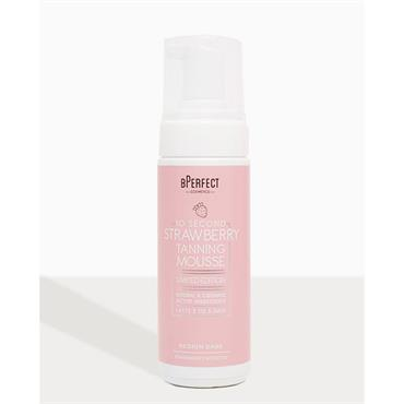 Bperfect 10 Second Strawberry Tanning Mousse Medium-Dark 150ml