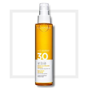 Clarins Sun Care Body Oil-in-Mist UVA/UVB 30 150ml