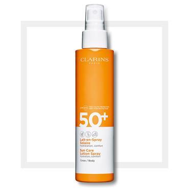 Clarins Sun Care Body Lotion-in-Spray UVA/UVB 50+ 150ml