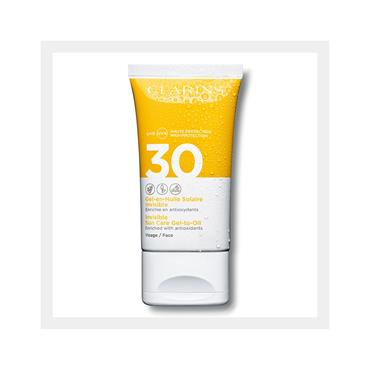 Clarins Invisible Gel-to-Oil Facial Sun Care UVA/UVB 30 150ml