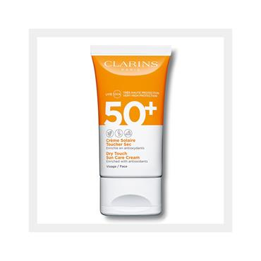Clarins Dry Touch Facial Sun Care UVA/UVB 50+ 50ml