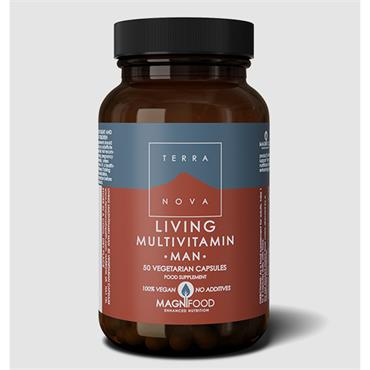 Terranova Living Multivitamin Man 50 Capsules