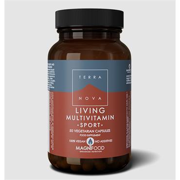 Terranova Living Multivitamin Sport 100 Capsules