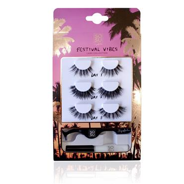 SOSU Festival Vibes Lash Collection