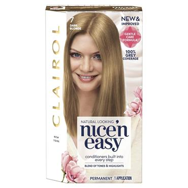 Clairol Nice ' N Easy Permanent Hair Dye - 7 Dark Blonde