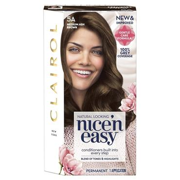 Clairol Nice ' N Easy Permanent Hair Dye - 5A Medium Ash Brown