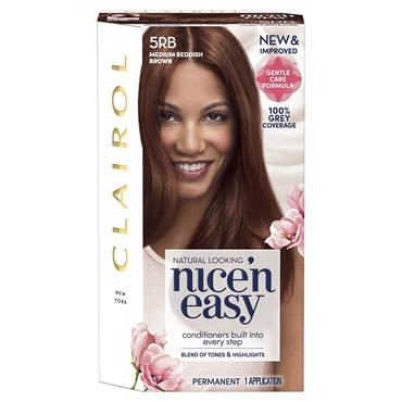 Clairol Nice ' N Easy Permanent Hair Dye - 5RB Medium Reddish Brown