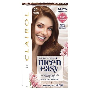 Clairol Nice ' N Easy Permanent Hair Dye - 5R Medium Auburn