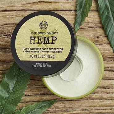The Body Shop Hemp Hard Working Foot Protector 100ml