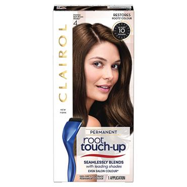 Clairol Permanent Root Touch Up - 4 Matches Dark Brown Shades