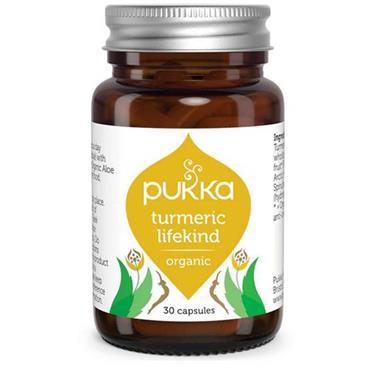 Pukka Turmeric Lifekind Organic 30 Capsules