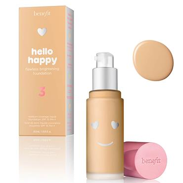 benefit Hello Happy Flawless Liquid Foundation 3