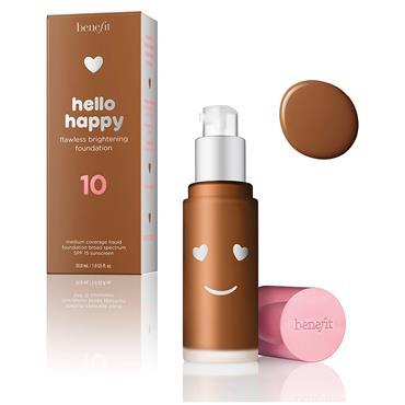 benefit Hello Happy Flawless Liquid Foundation 10