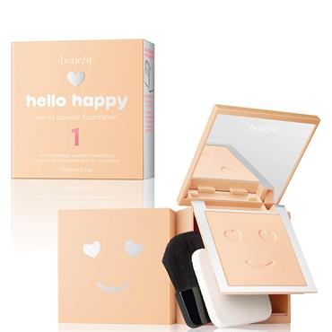 Benefit Hello Happy Velvet Powder Foundation 1