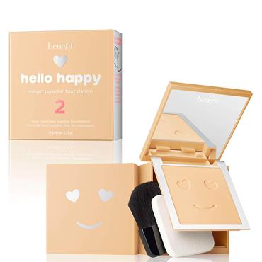 Benefit Hello Happy Velvet Powder Foundation 2