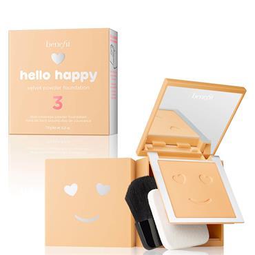 Benefit Hello Happy Velvet Powder Foundation 3