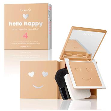 Benefit Hello Happy Velvet Powder Foundation 4