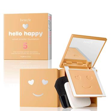 Benefit Hello Happy Velvet Powder Foundation 5