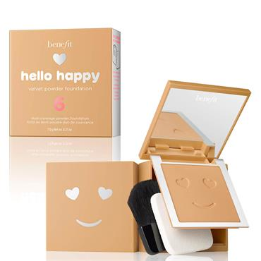 Benefit Hello Happy Velvet Powder Foundation 6