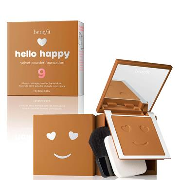 Benefit Hello Happy Velvet Powder Foundation 9
