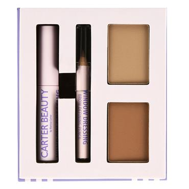 Carter Beauty Window Dressing Brow Kit - Light To Medium