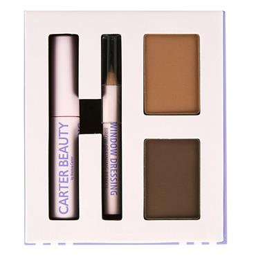 Carter Beauty Window Dressing Brow Kit - Medium To Dark