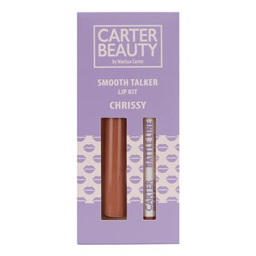 Carter Beauty Smooth Talker Lip Kit - Chrissy