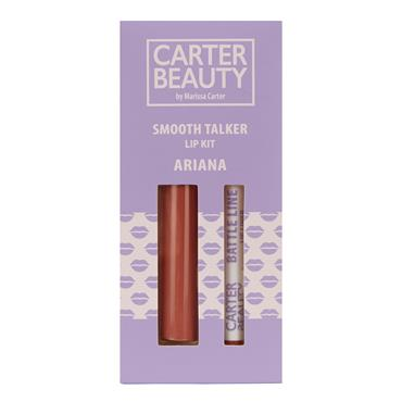 Carter Beauty Smooth Talker Lip Kit - Ariana