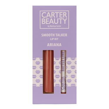 Carter Beauty Smooth Talker Lip Kit - Ariana