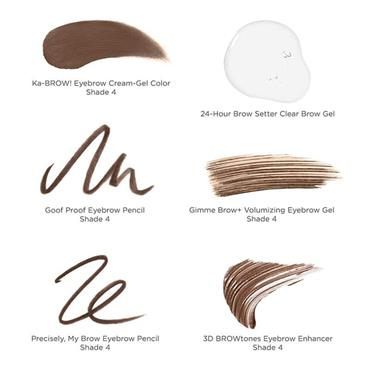 Benefit Limited Edition Brow Superstars Brow Gift Set Shade 4