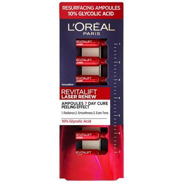 L'oreal Paris Revitalift Laser Renew Ampoules - 7 Day Cure Peeling Effect
