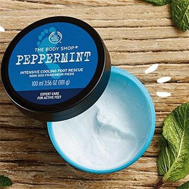 The Body Shop Peppermint Intensive Cooling Foot Rescue 100ml
