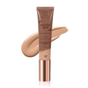 Sculpted By Aimee Connolly Second Skin Dewy - Light 32ml