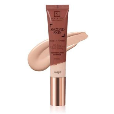 Sculpted By Aimee Connolly Second Skin Matte - Porcelain 32ml