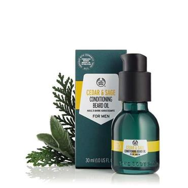 The Body Shop Cedar & Sage Conditioning Beard Oil 30ml