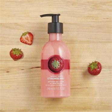 The Body Shop Strawberry Softening Gel Lotion 250ml