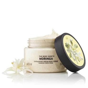 The Body Shop Moringa Exfoliating Gel Body Scrub 250ml