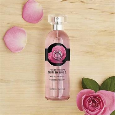 The Body Shop British Rose Eau De Toilette 100ml