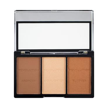Makeup Revolution Ultra Brightening Contour Kit Ultra Light-Medium