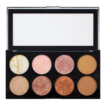 Makeup Revolution Blush & Contour Palette Golden Sugar