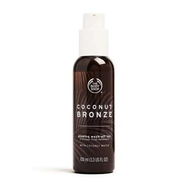The Body Shop Coconut Bronze Glowing Wash Off Tan 100ml