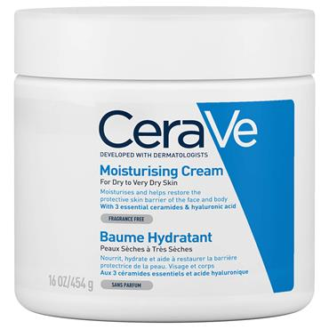 CeraVe Moisturising Cream Dry To Very Dry Skin 454g