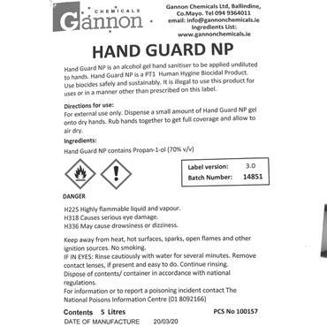 Hand Sanitiser Refill 185mls
