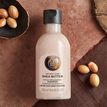 The Body Shop Shea Butter Richly Replenishing Shampoo 250ml