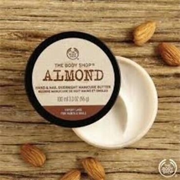 The Body Shop Almond Hand & Nail Overnight Manicure Butter 100ml