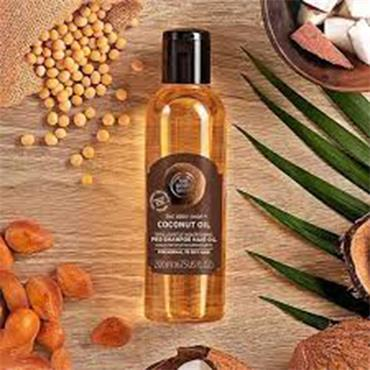 The Body Shop Coconut Oil Brilliantly Nourishing Pre-Shampoo Hair Oil 200ml