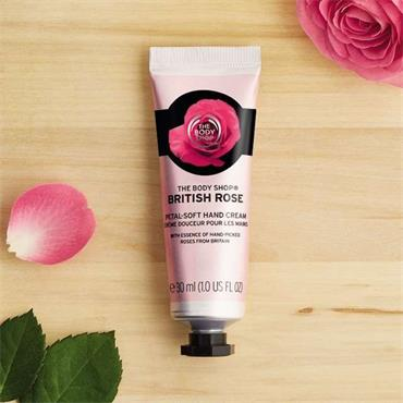 The Body Shop British Rose Hand Cream 100ml