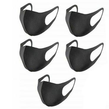 Reusable Fashion Face Mask Black