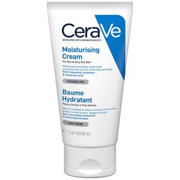 CeraVe Moisturising Cream Dry To Very Dry Skin 50ml