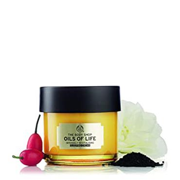 The Body Shop Oils Of Life Intensely Revitalising Sleeping Cream 80ml